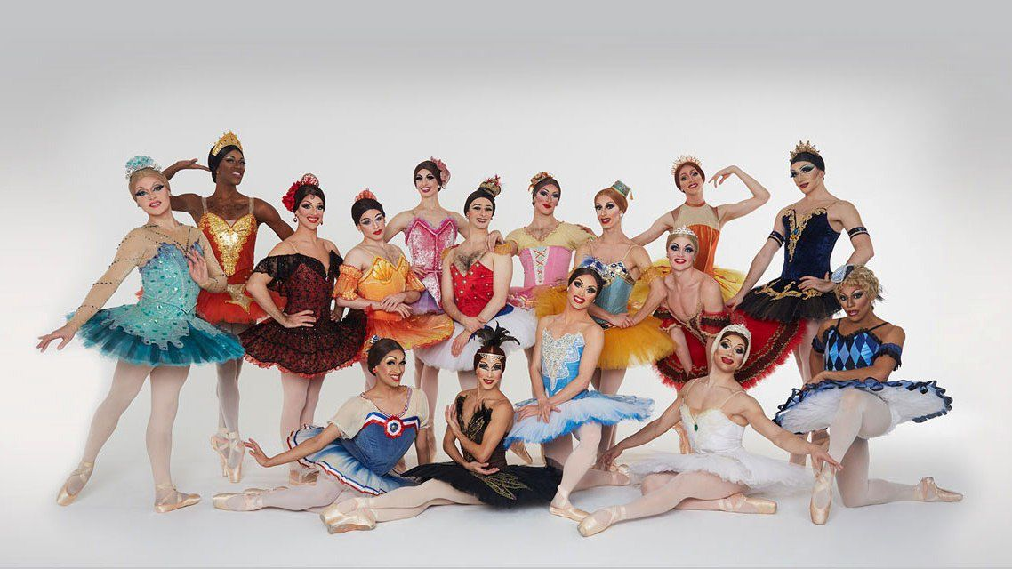 Photo : Ballets Trockadero