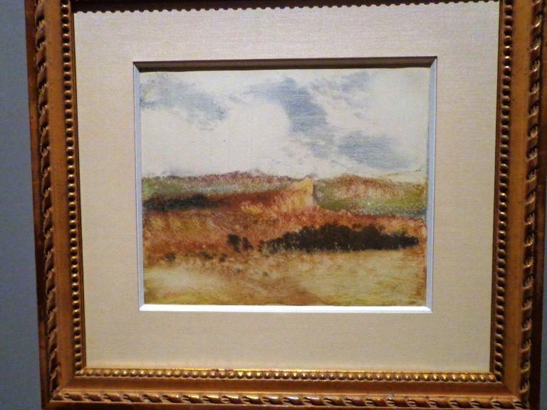 Paysage - Monotype de 1892