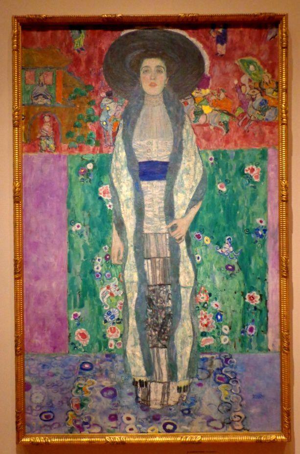 """Adele Bloch-Bauer II"" de Klimt"