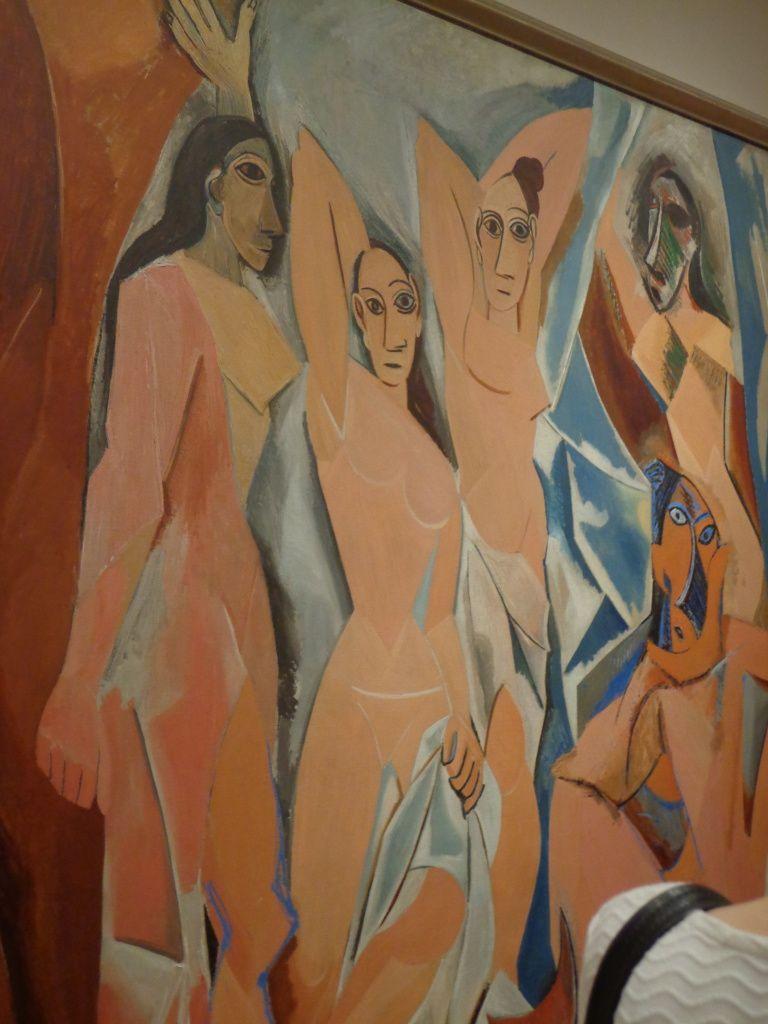 """""""Les demoiselles d'Avignon"""" de Picasso"""