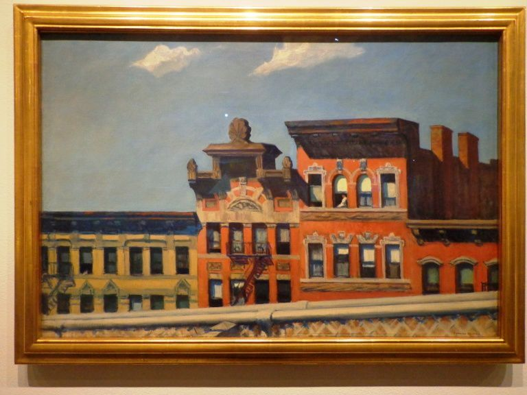 From Williamsburg bridge - Edward Hopper - 1928