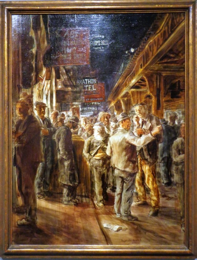 The Bowery - Reginald Marsh - 1930