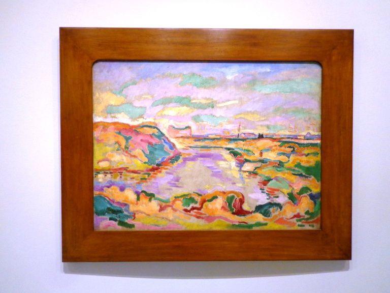 Paysage près d'Anvers - Georges Braque, 1906
