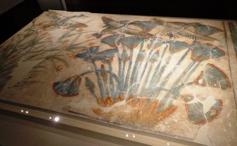 Fragment du sol d'un palais amarnien - 1350 avant JC