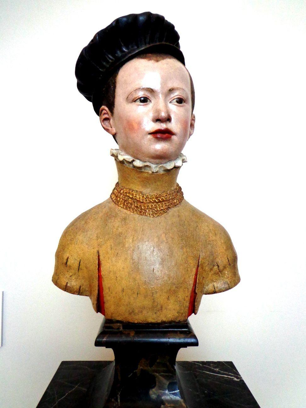 Buste d'un jeune prince - Germain Pilon, Paris, 1560