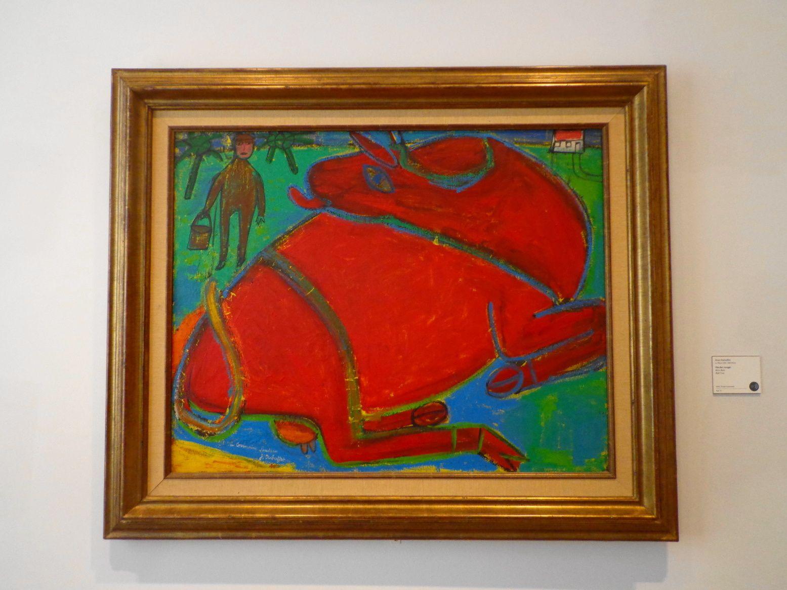 Vache rouge - Jean Dubuffet, 1943