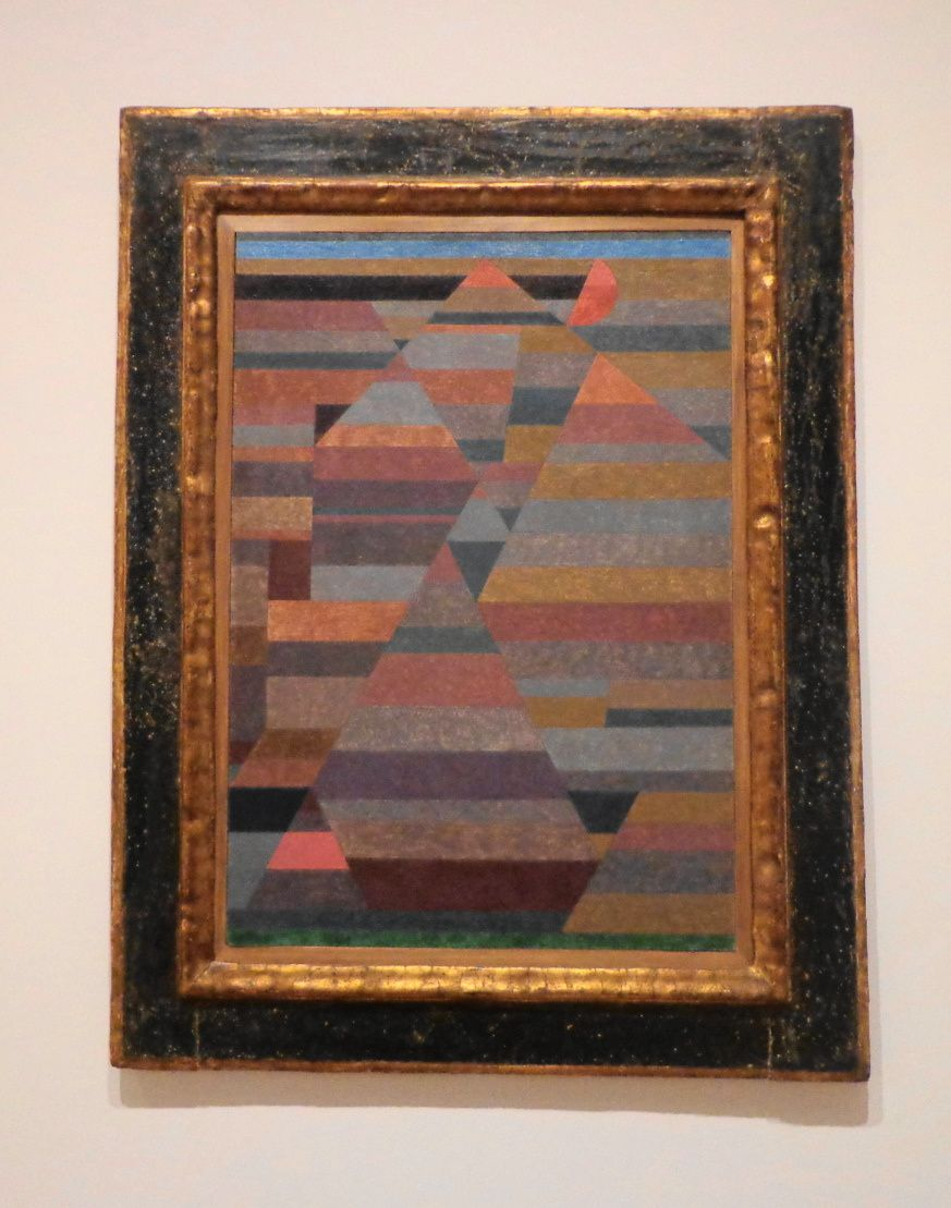 Nécropole - Paul Klee, 1929