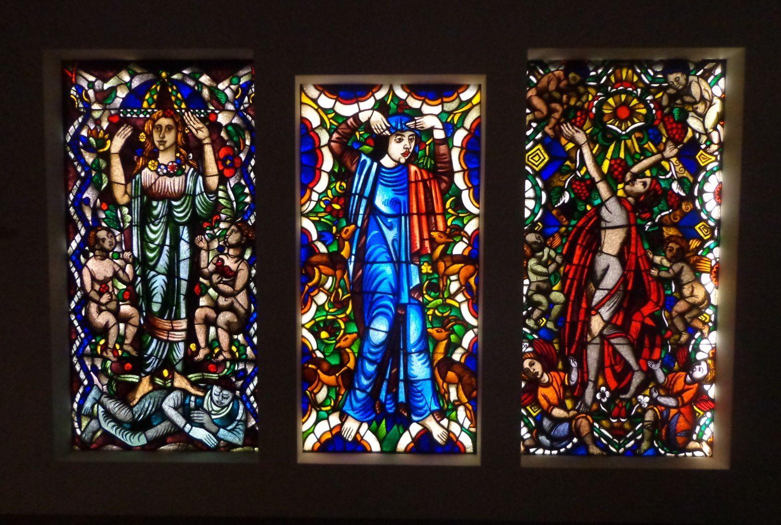 Panneaux en vitrail - Max Pechstein, 1911/13