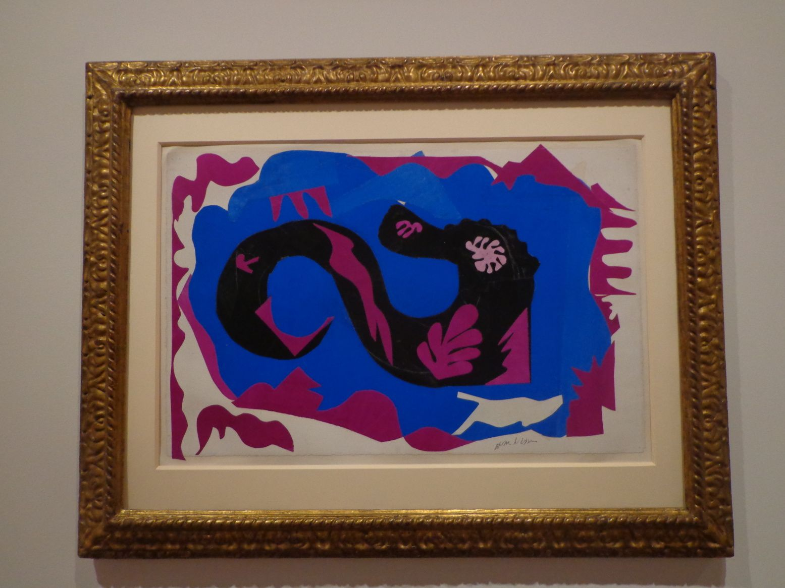Le dragon - Collage -  Henri Matisse, 1944
