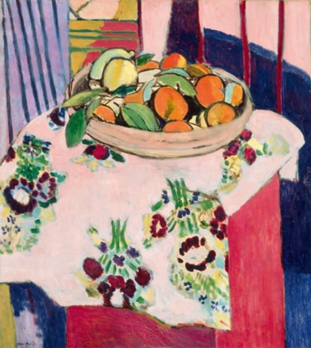 Nature morte aux oranges (1912)