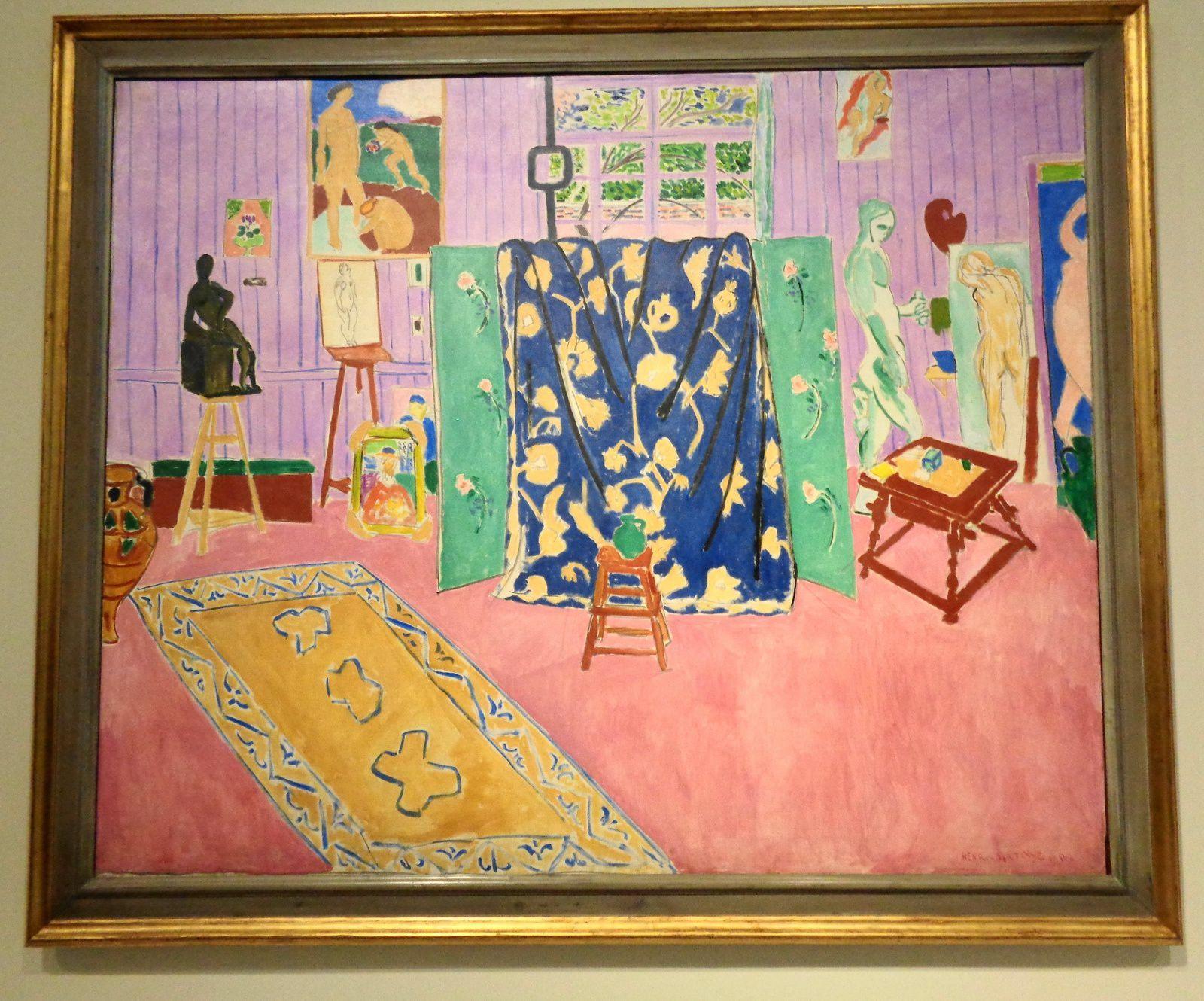 L'atelier du peintre (L'atelier rose) - Henri Matisse, 1911