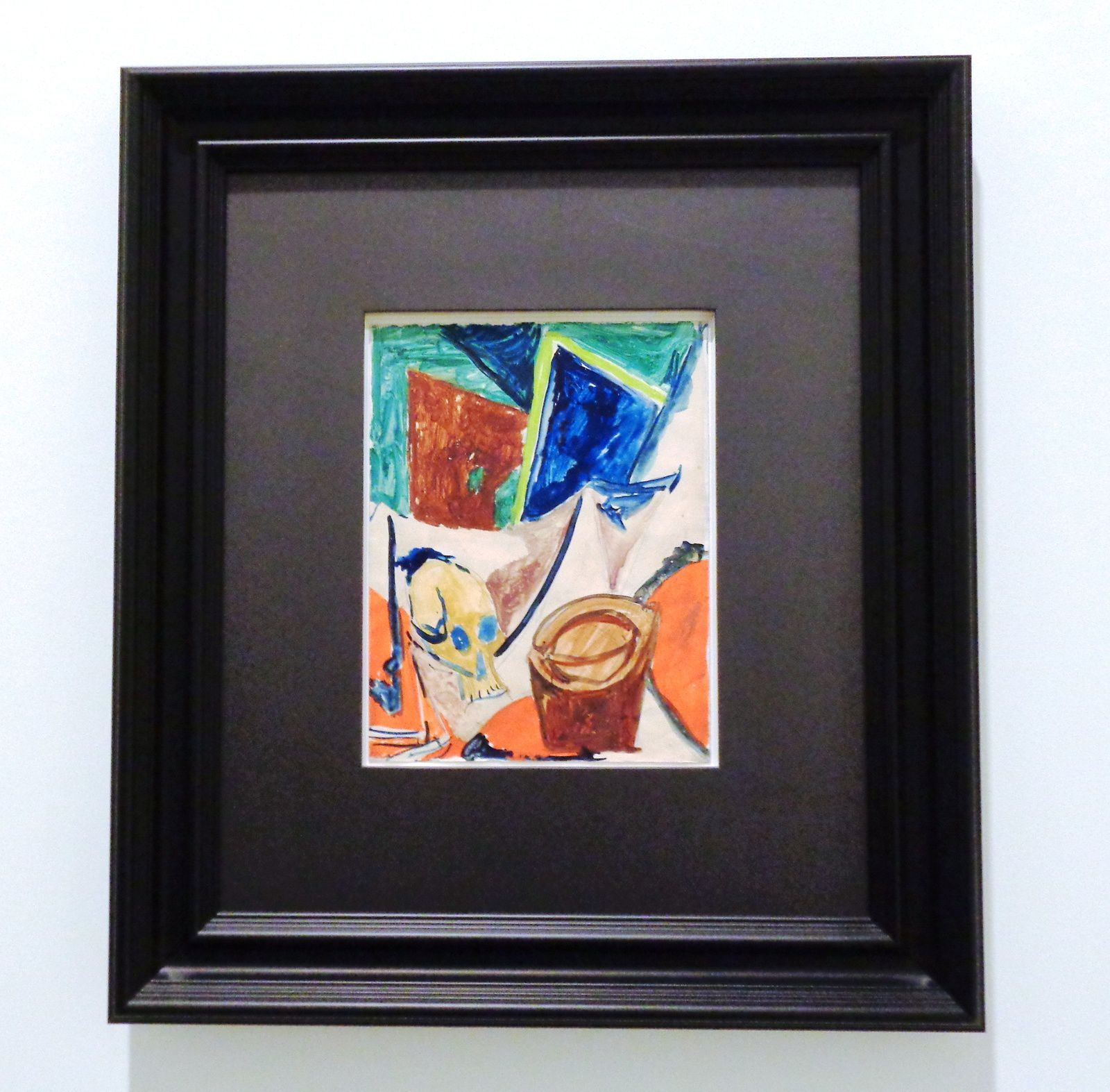 Composition à la tête de mort - Pablo Picasso, 1908