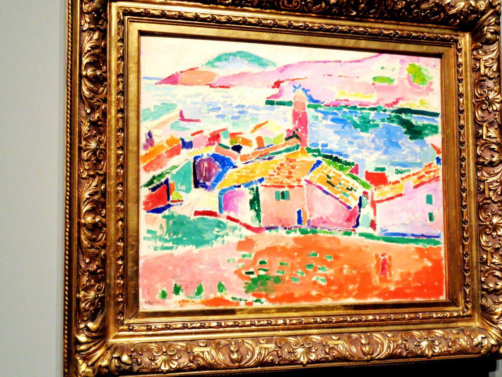 Vue de Collioure - Henri Matisse, 1905