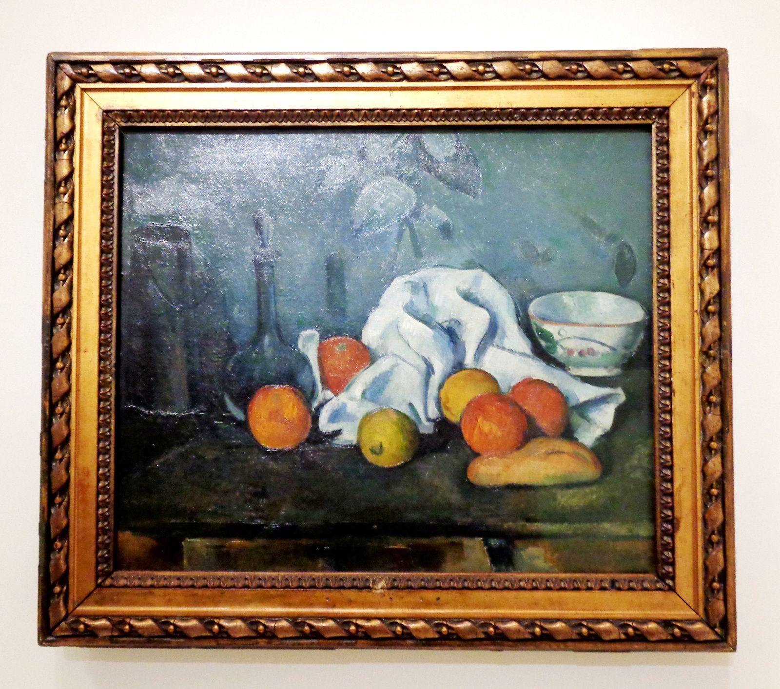 Nature morte aux fruits - Cézanne, 1903