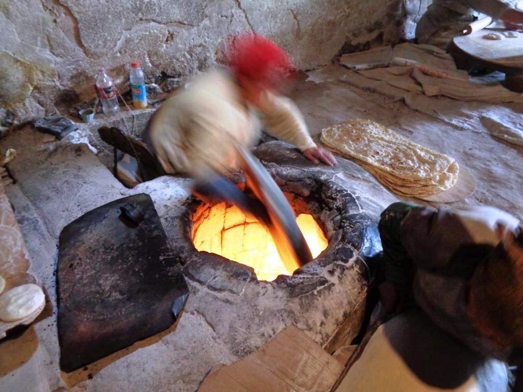 Arménie - L'atelier de lavash
