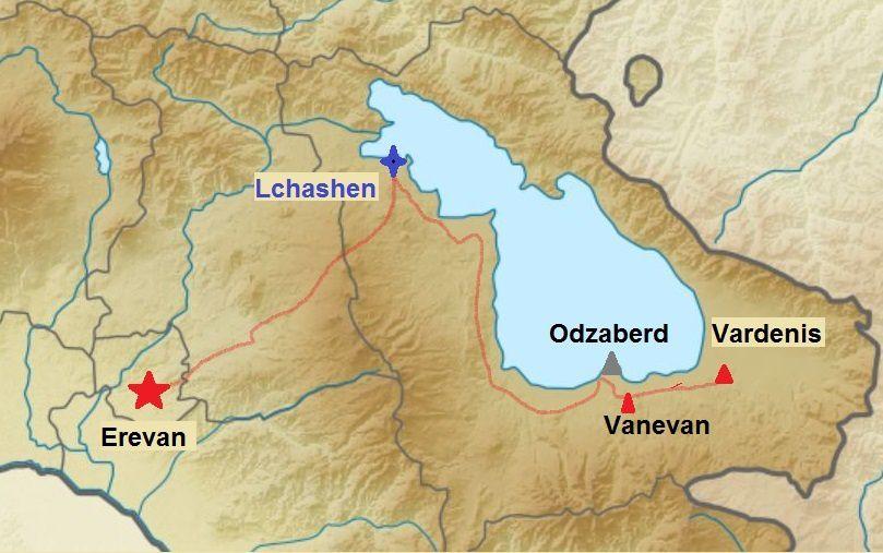 Arménie - Vanevan et une curiosité