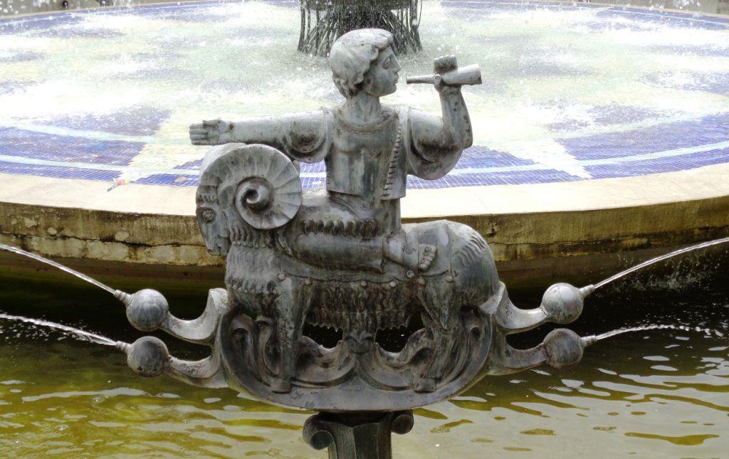 Arménie - La Fontaine du Zodiaque à Yerevan