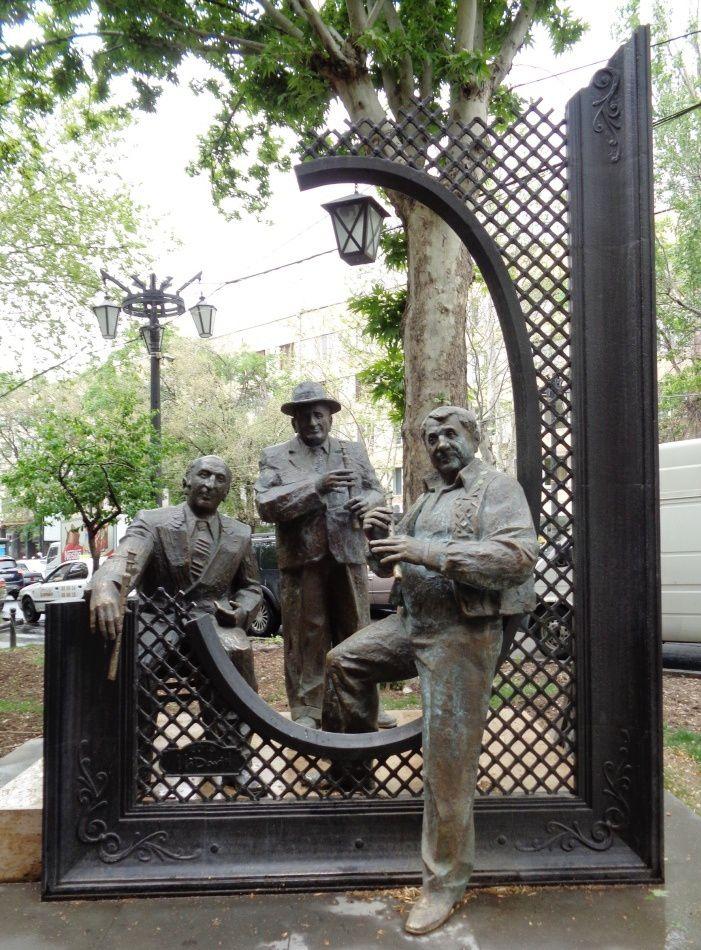 Arménie - Un ours, une araignée et autres bricoles à Yerevan