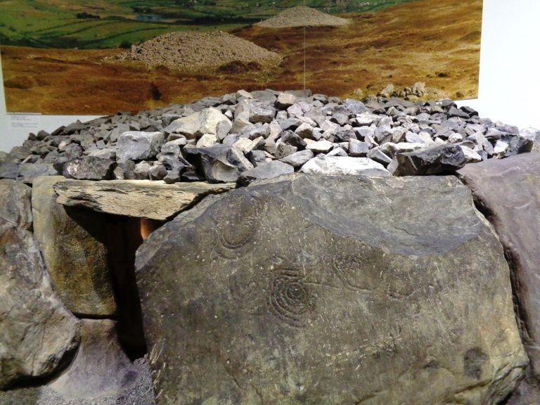 Reconstitution d'une tombe - Environ 3000 ans avant notre ère