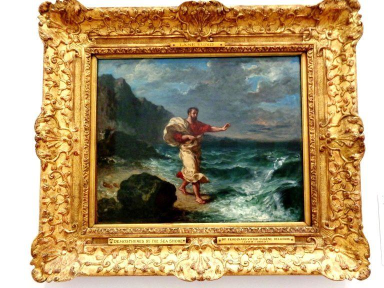 Démosthènes - Eugène Delacroix, 1859