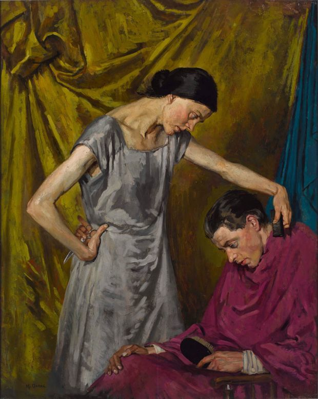 The haircut - Margaret Clarke, 1926