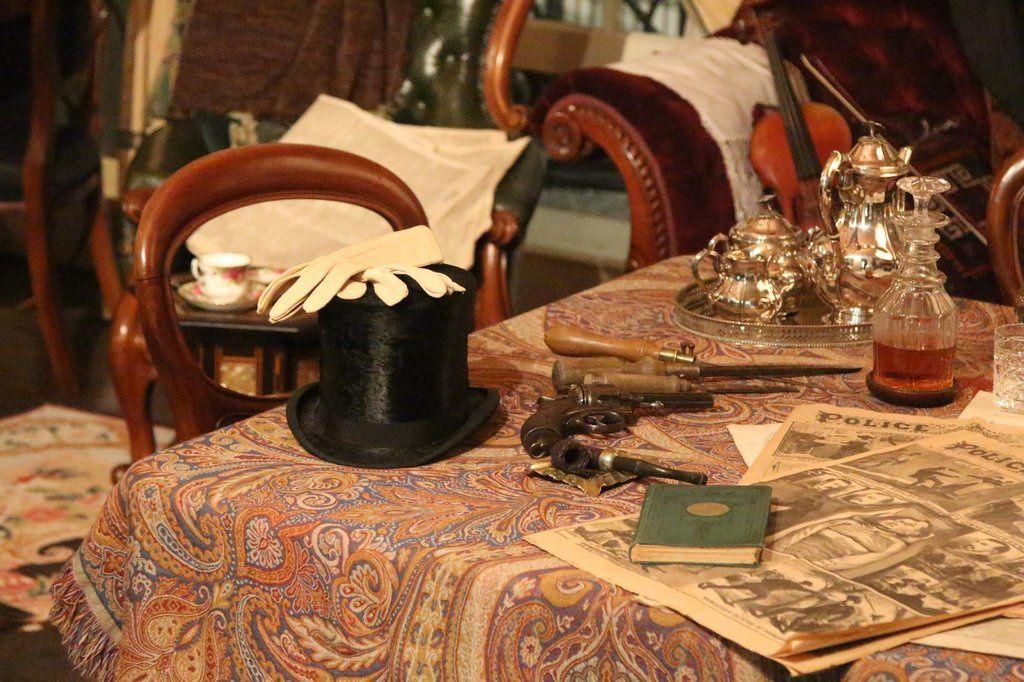 Rencontres autour de Sherlock Holmes : 1e jour