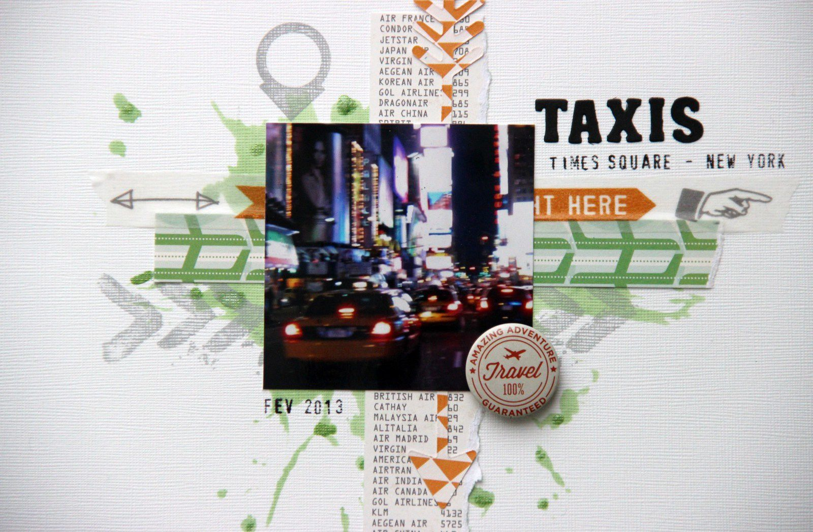 Taxis New Yorkais !
