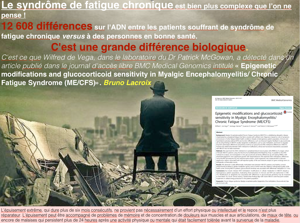 Le syndrome de fatigue chronique est bien plus complexe que l'on ne pense !