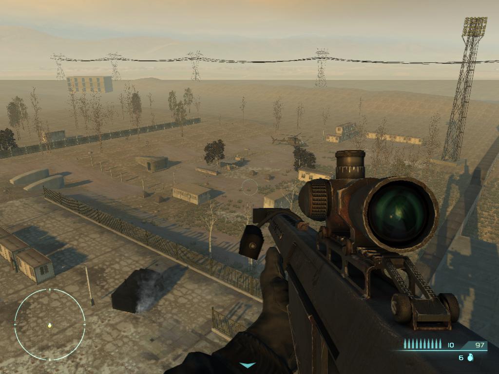 C'est simple, si vous allez dans la zone où je vise sans avoir tuer les méchants, le jeu vous tue brutalement.