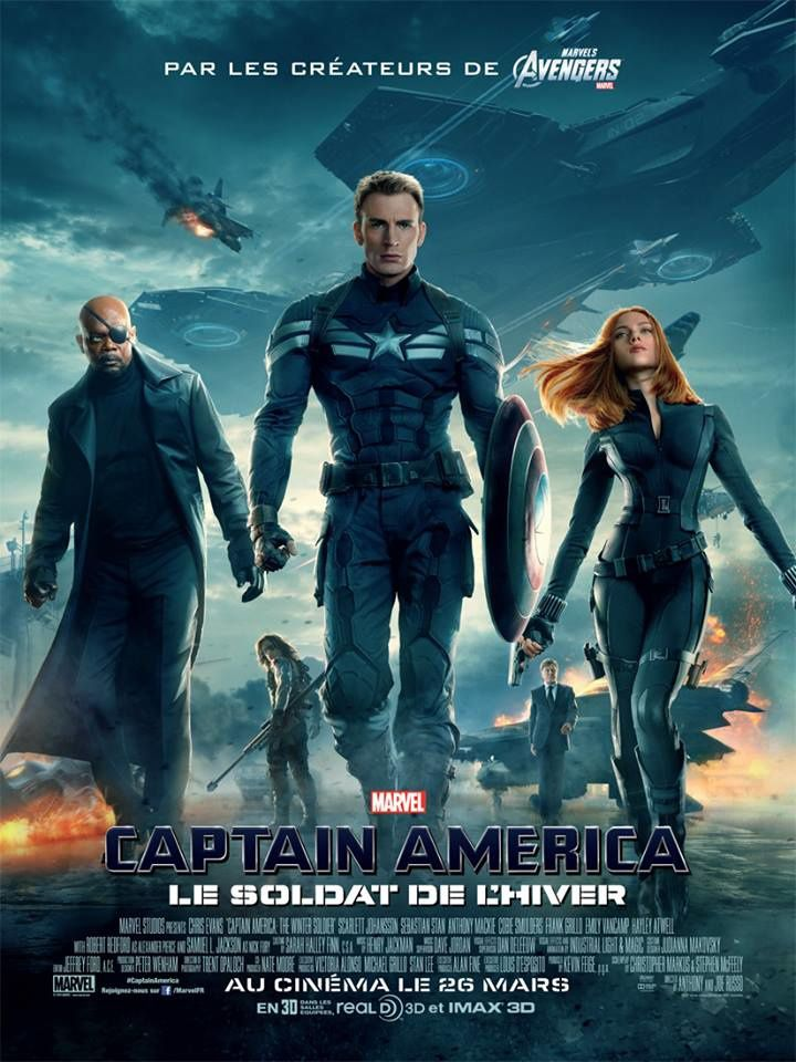 [Review] Captain America 2 : Le Soldat de l'Hiver