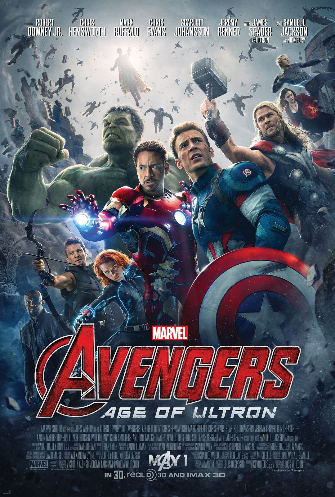 [Review] Avengers : Age of Ultron
