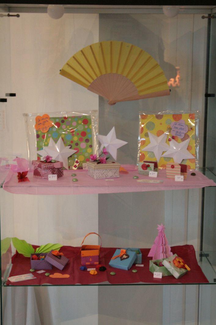 Photos des créations de l'exposition de Noël