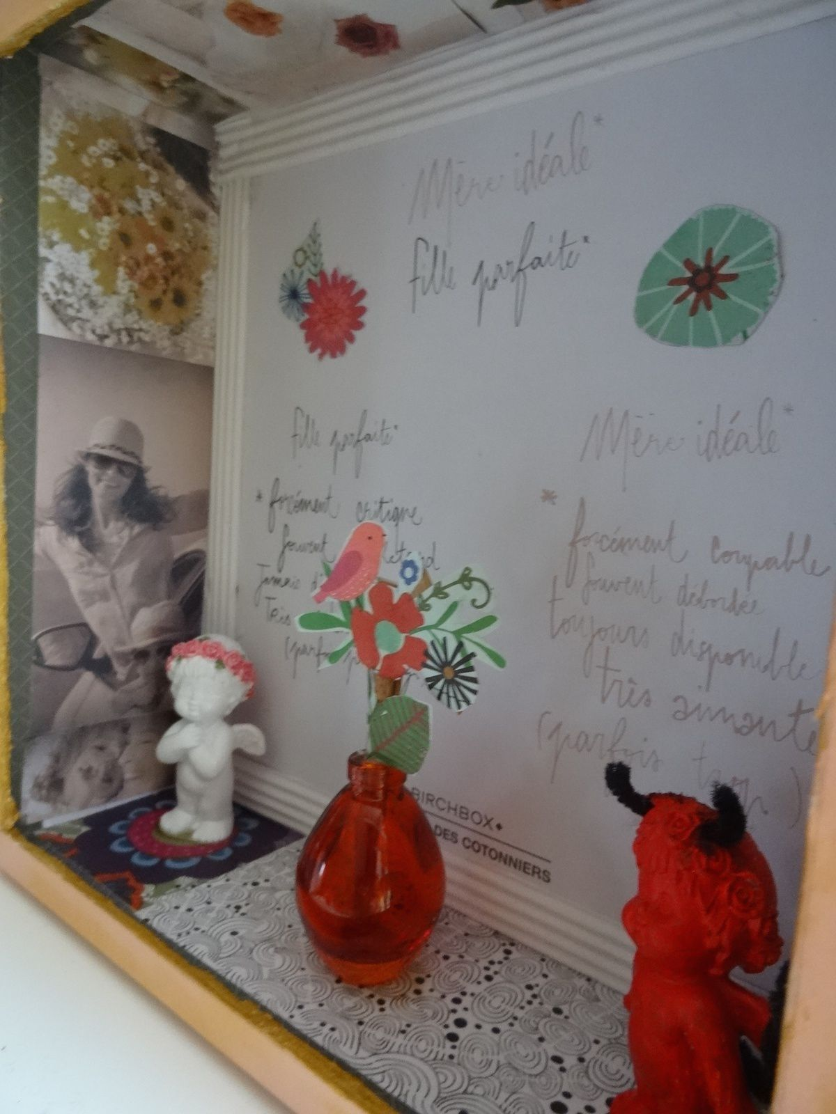 vitrine Comptoir des Cotonniers Birchbox Flow Christelle Ferrand Mère fille