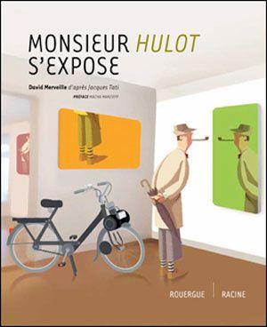 Aux éditions du Rouergue, des mises en scènes pleine d'humour d'un Monsieur Hulot plus vrai que nature. Pour le bonheur des enfants et des amoureux de Jacques Tati...