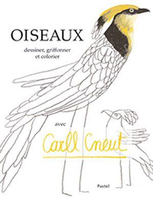 Un album à colorier de 80 pages, pour laisser s'envoler la créativité et les oiseaux. Carll Cneut y fait quelques suggestions : compléter un nid rempli d'oeufs, choisir ses couleurs préférées, dessiner un oiseau la nuit…