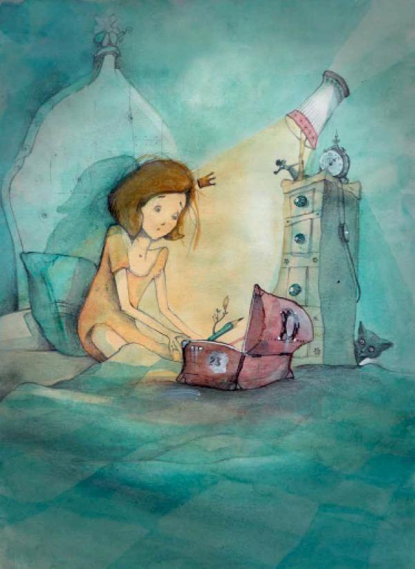 L'Arbre aux crayons, Jeanne Taboni-Misérazzi, illustrations de Loren Bes, éditions Bilboquet
