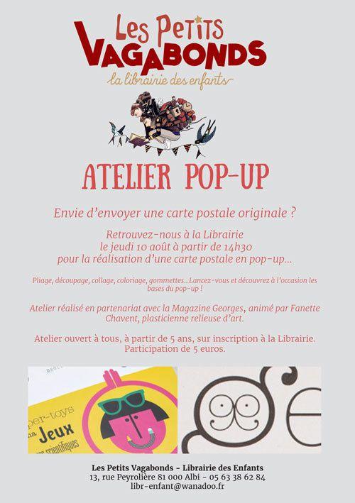 Atelier Pop-up !
