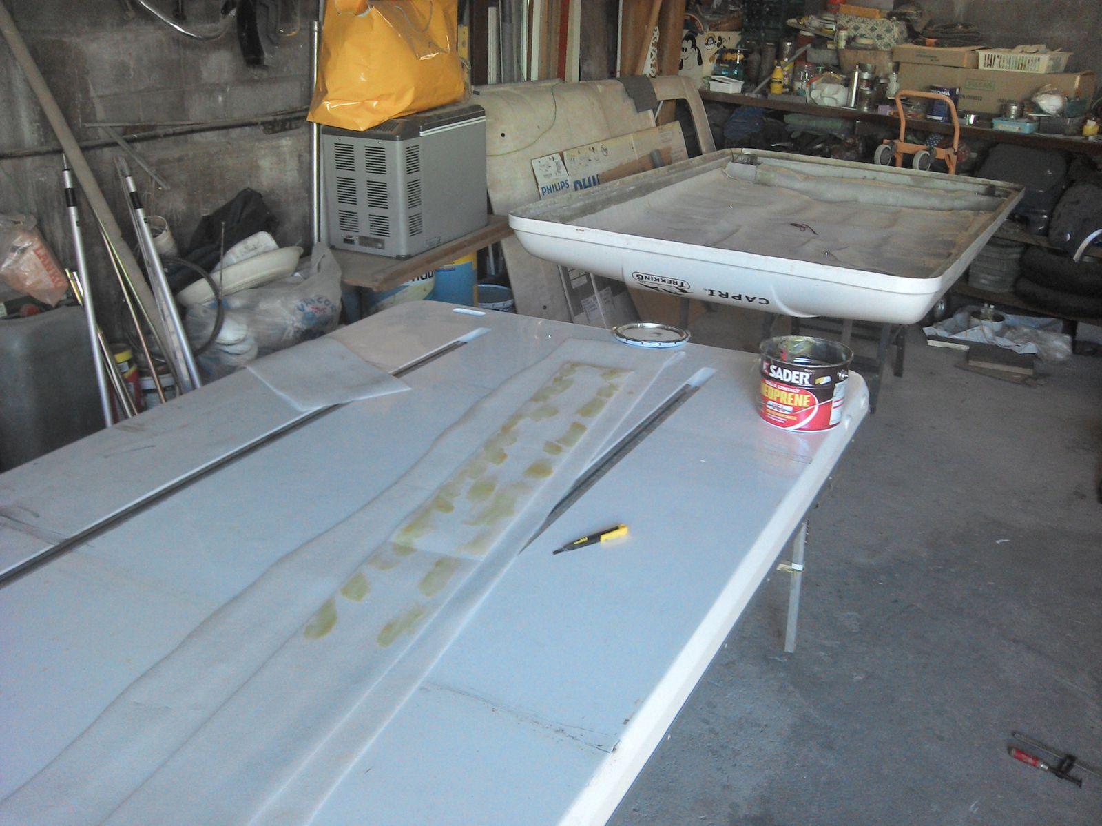Toy HDJ80 : Ré-aménagement 2013 : 2/ Chambre de toit