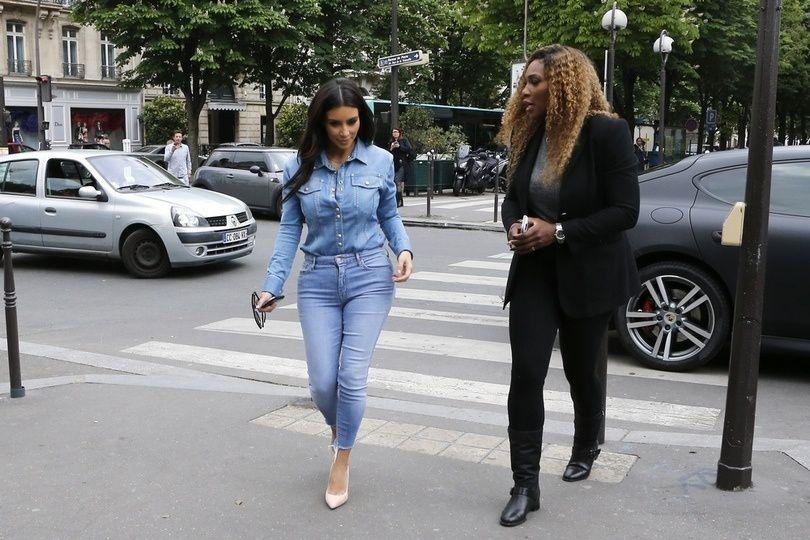 les tenus de kim kardashian a paris 2014   avant le jour J mariage