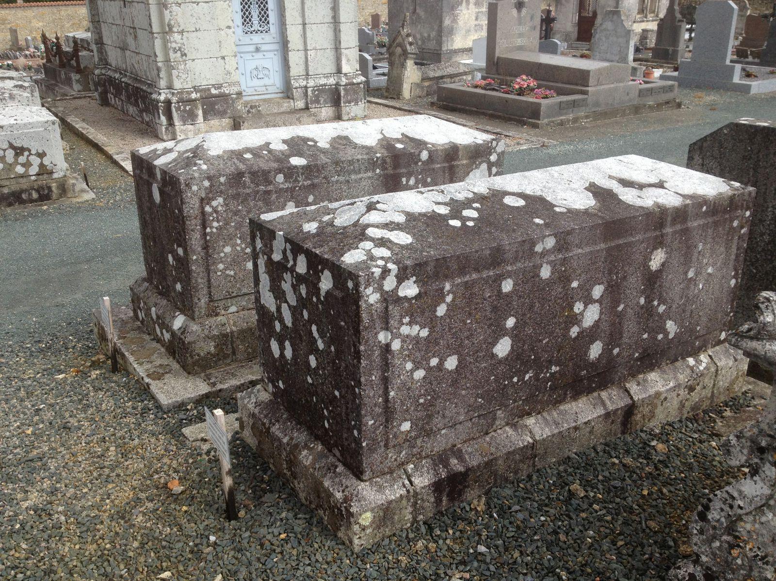 Les autres tombes Parenteau Ferdinand et son épouse
