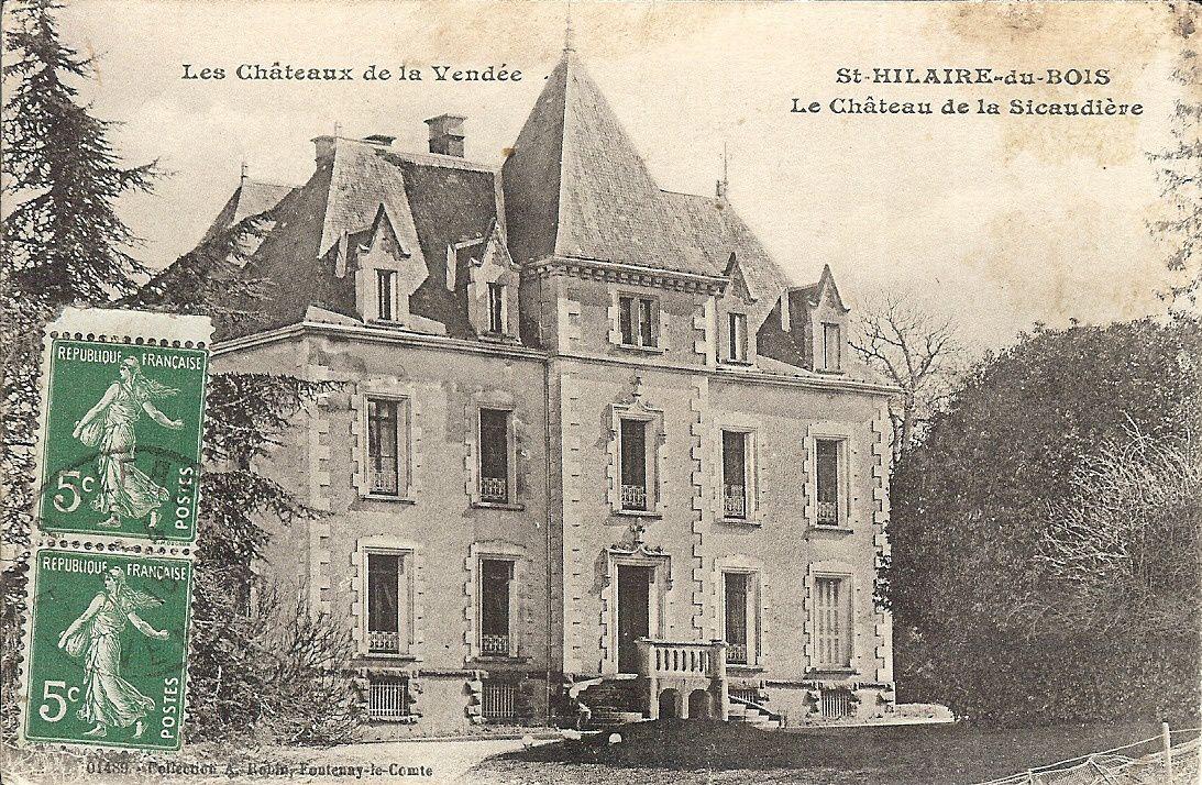Châteaux : La Sicaudière