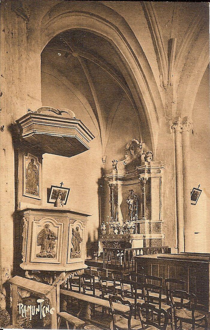 Saint Aubin la Plaine : l'église