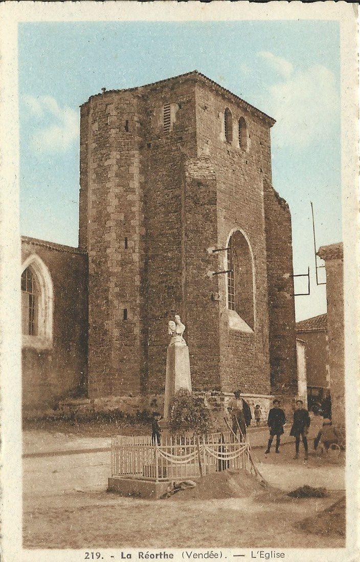 La Réorthe - l'église.