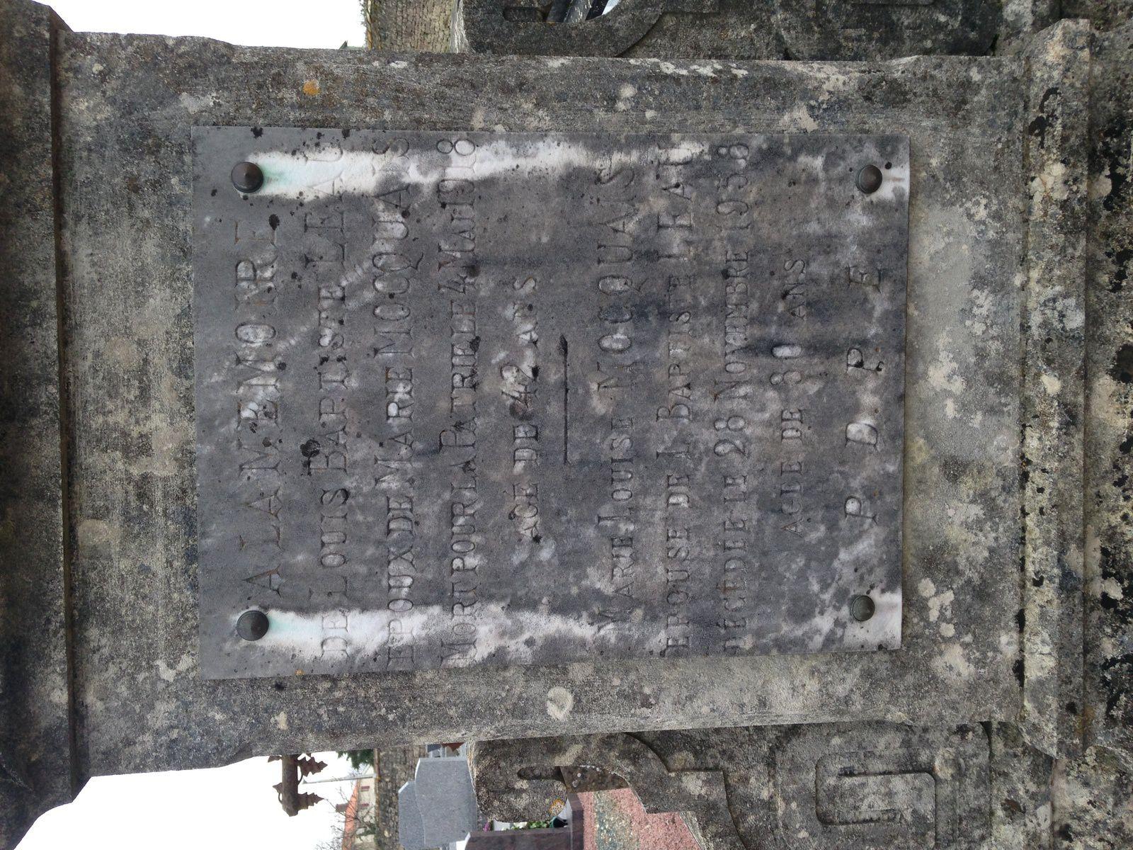 Le Tableau d'Honneur de Saint Aubin la Plaine