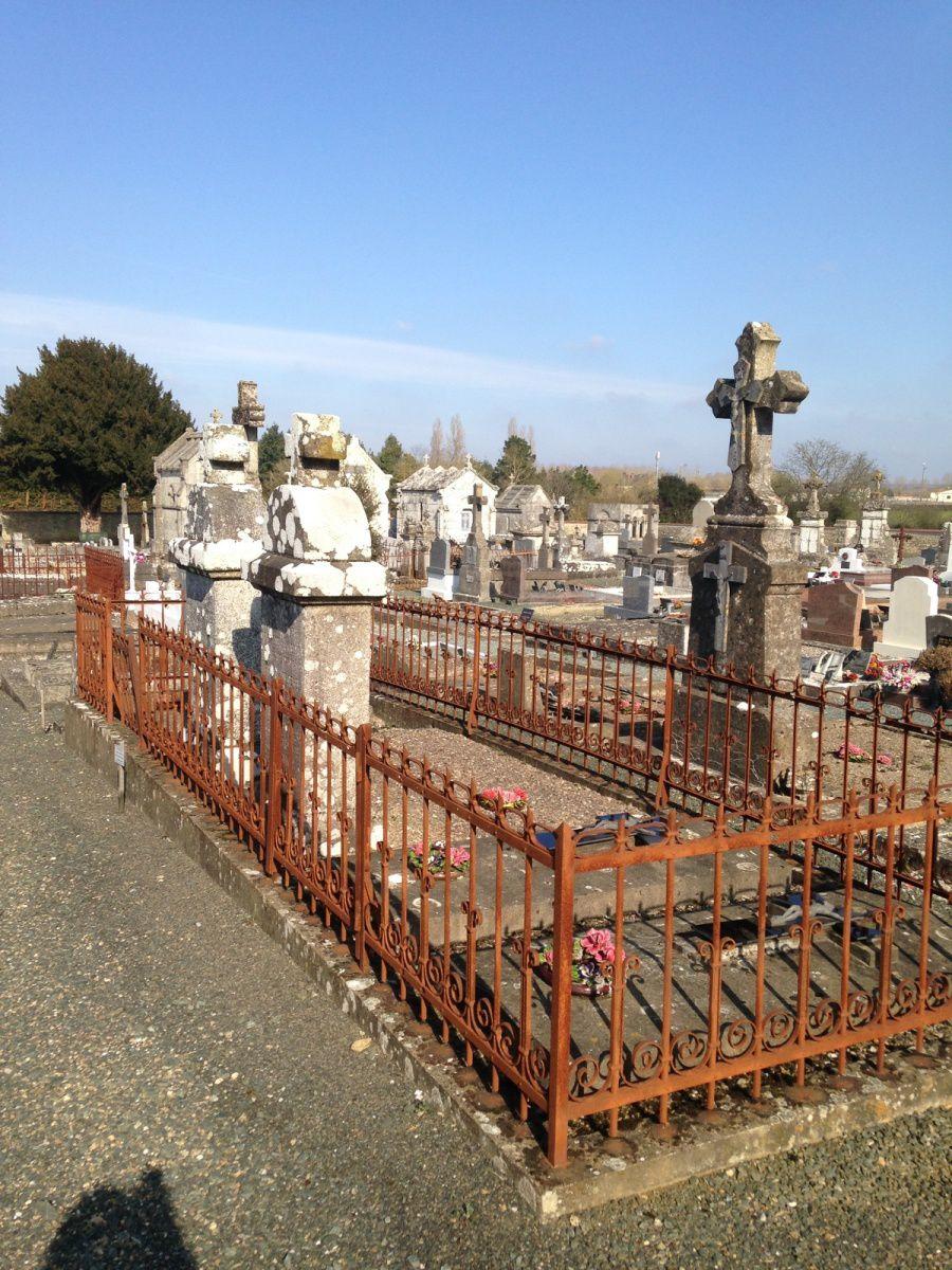 Tombes de la famille CHAMPAUD et Albert Champaud à la fin de sa vie.