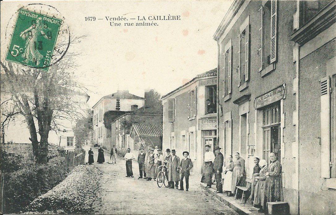 La Caillère : Rues et Commerces