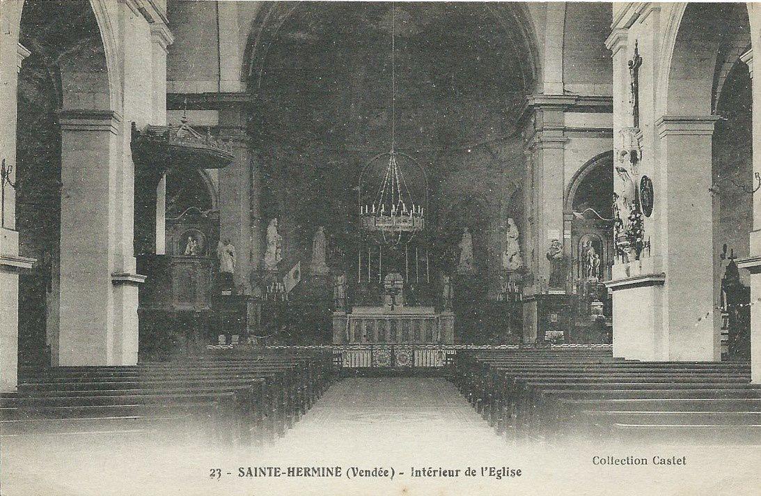 L'Eglise de Sainte Hermine