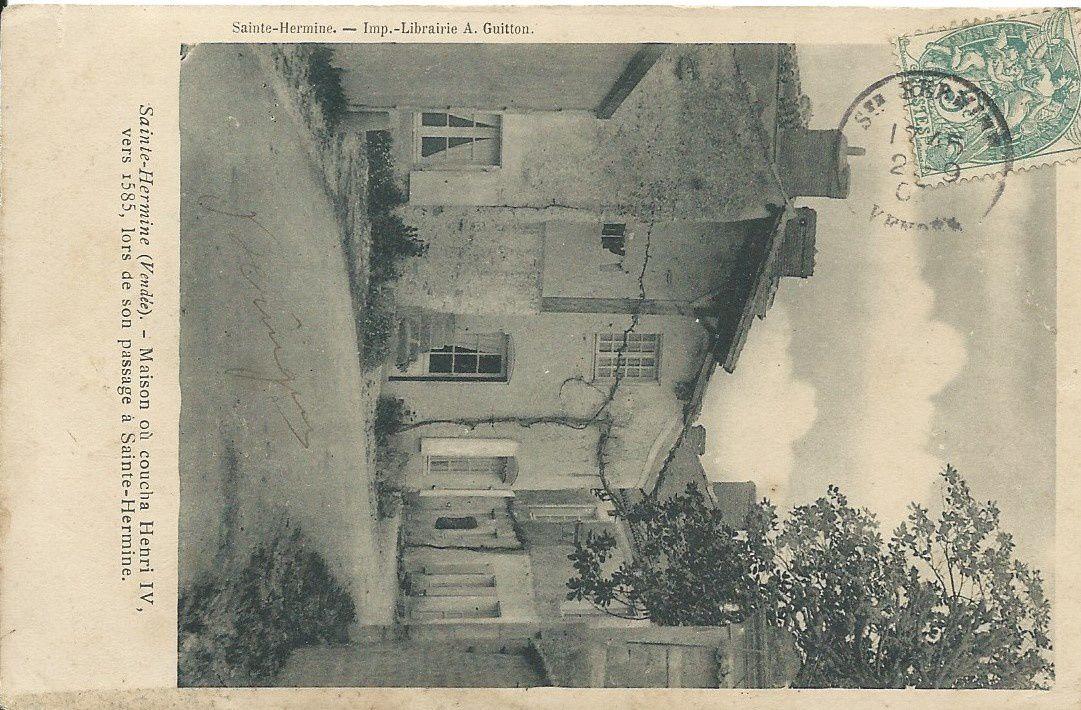Sante Hermine : Belles maisons