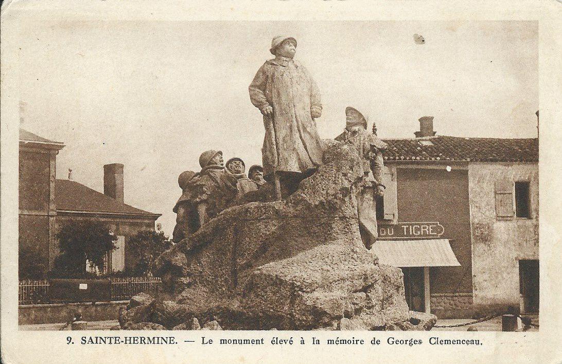 Ste Hermine - Monument à Georges Clemenceau