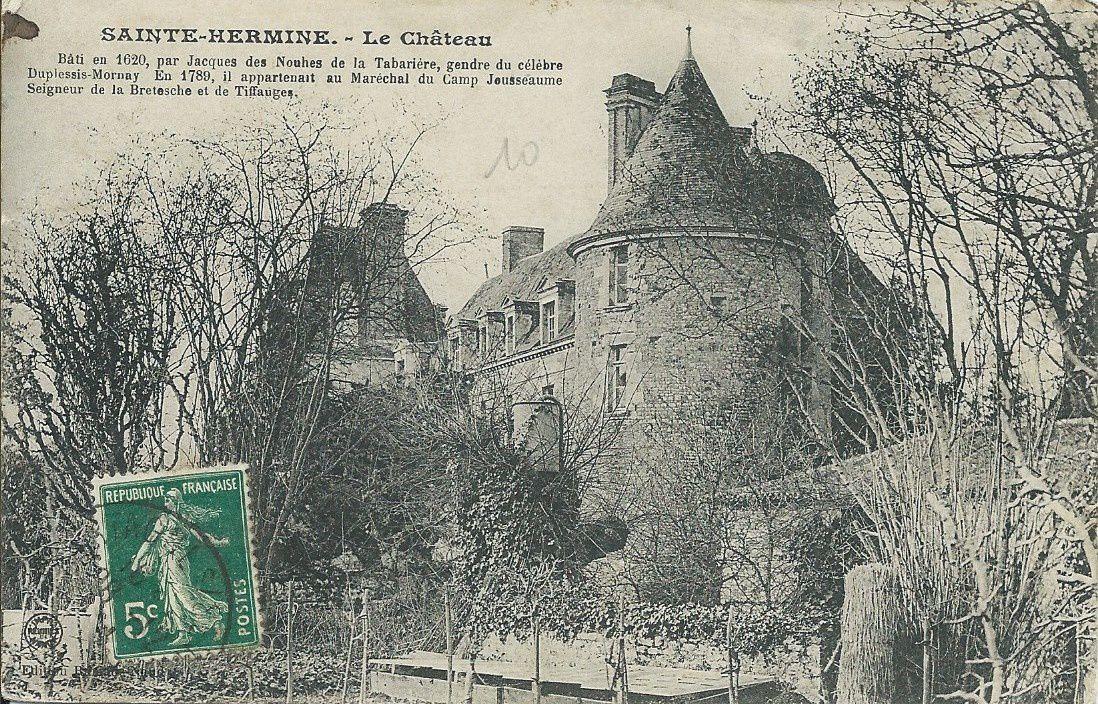 Sainte Hermine le Château
